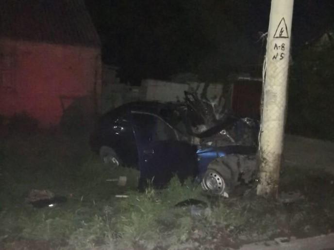 Смертельное ДТП произошло ночью в Шахтах