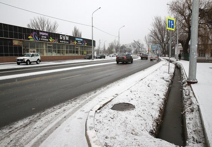 В Новочеркасске расширили дорогу на Хотунке