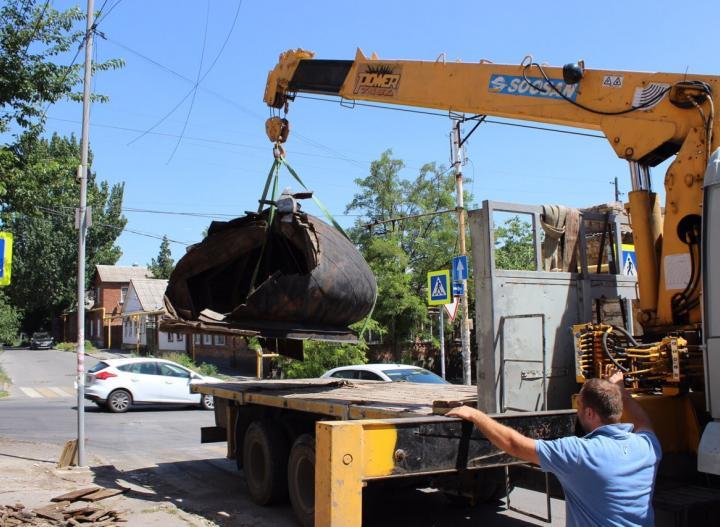 Для старинного купола, который эвакуировали в Ростове, нашли постоянное место хранения