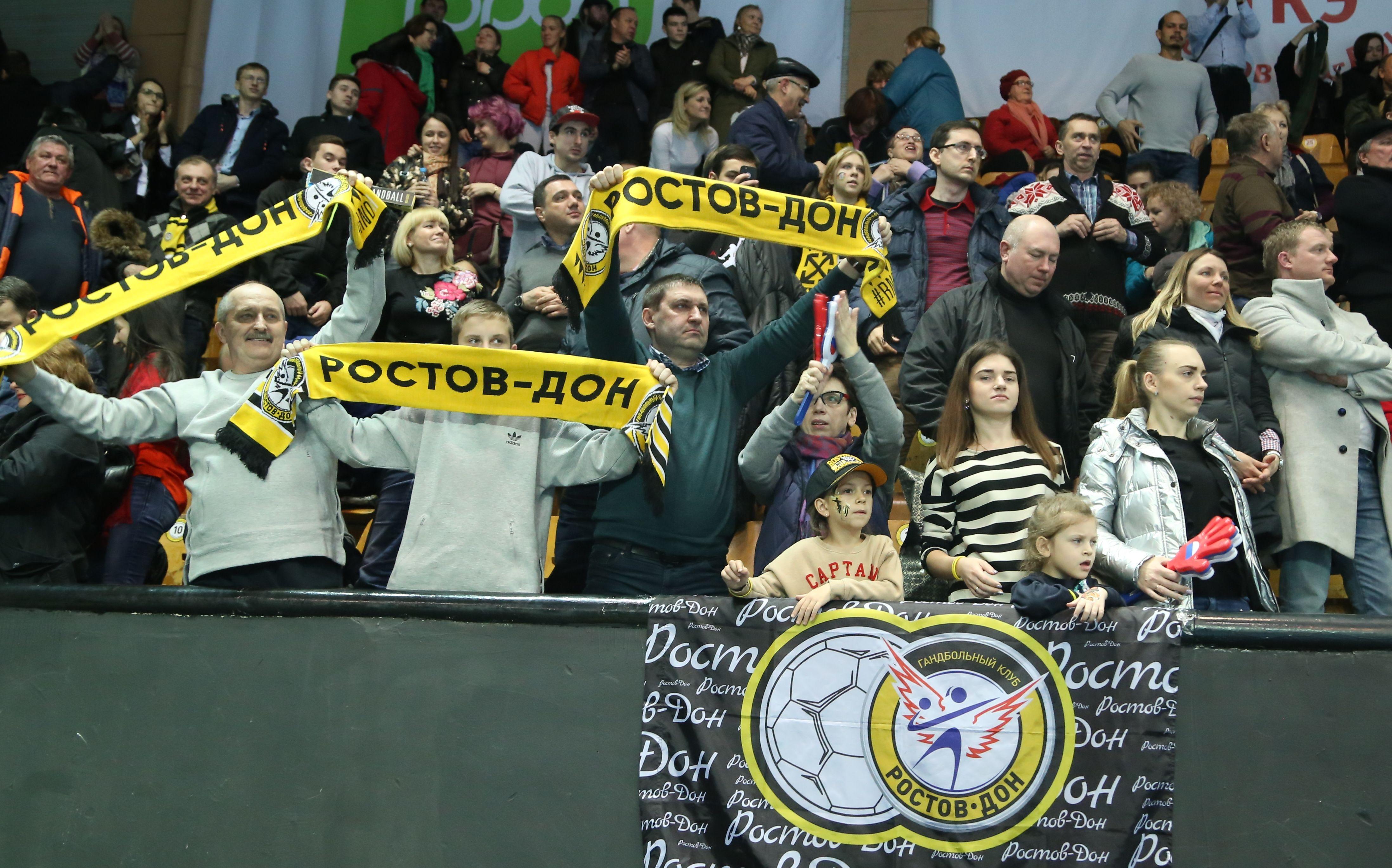 Взяли реванш: ГК «Ростов-Дон» обыграл тольяттинскую «Ладу»