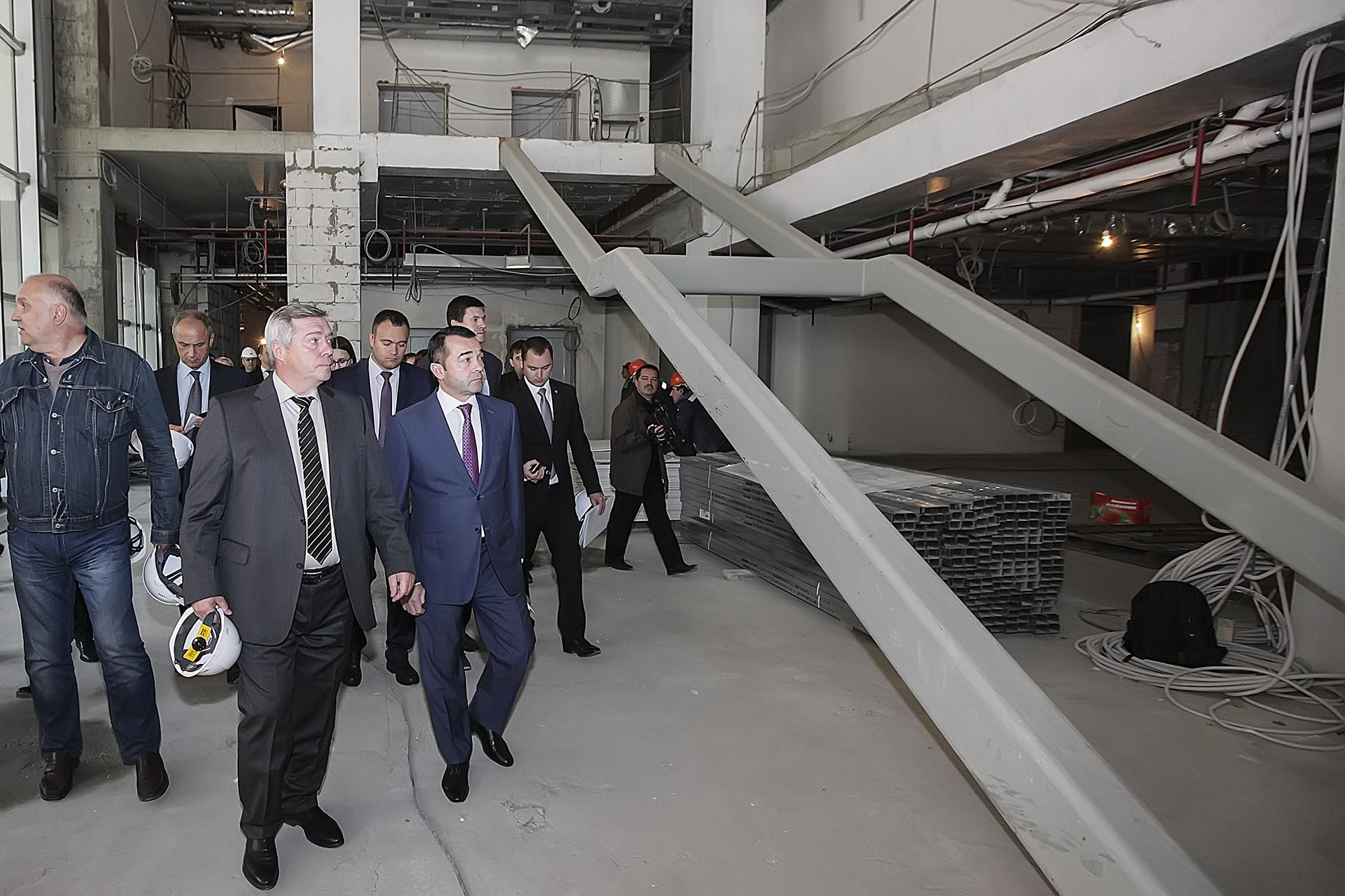 Внешэкономбанк возобновил финансирование стройки отеля Hyatt вРостове