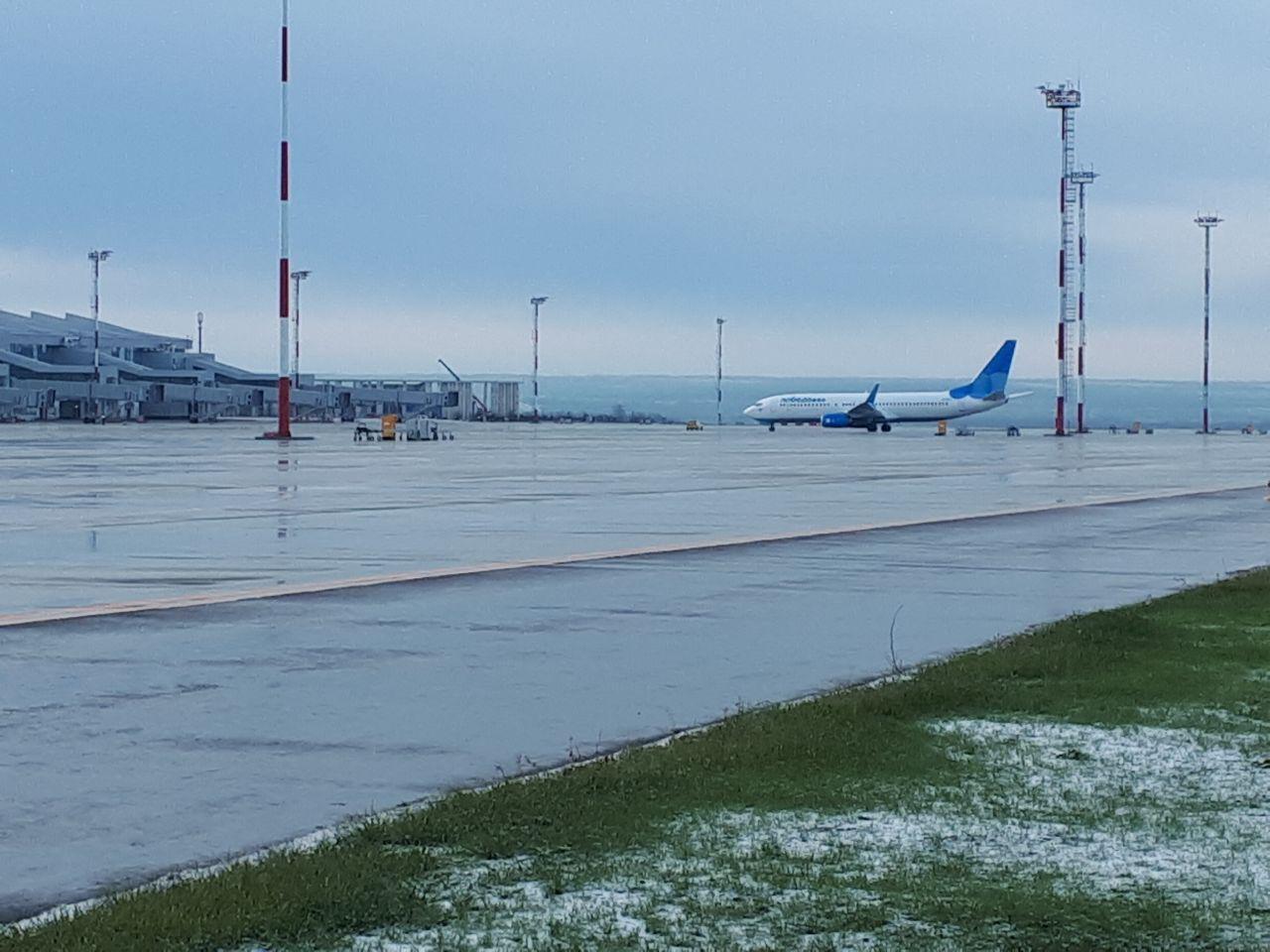 Новый ростовский аэропорт «Платов» принял 1-ый  рейс