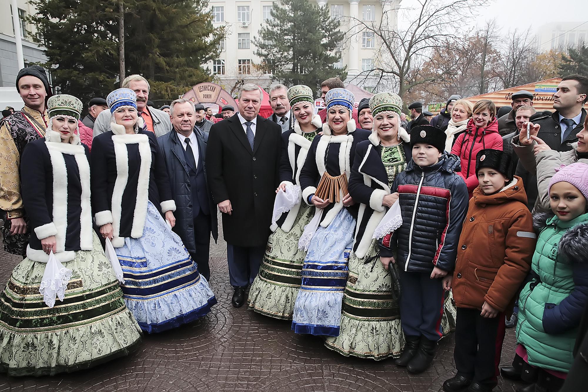 Таганрожцы приняли энергичное участие воII съезде народов Дона