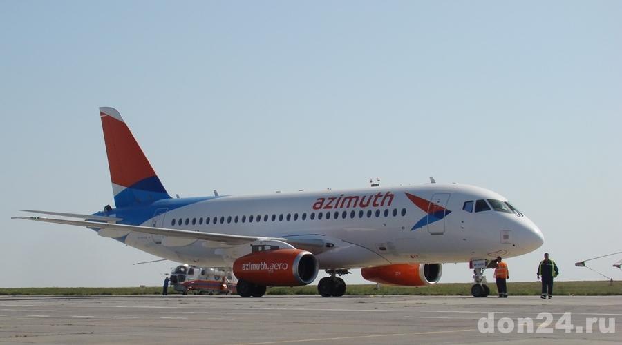 Новая авиакомпания «Азимут» откроет рейсы вМахачкалу