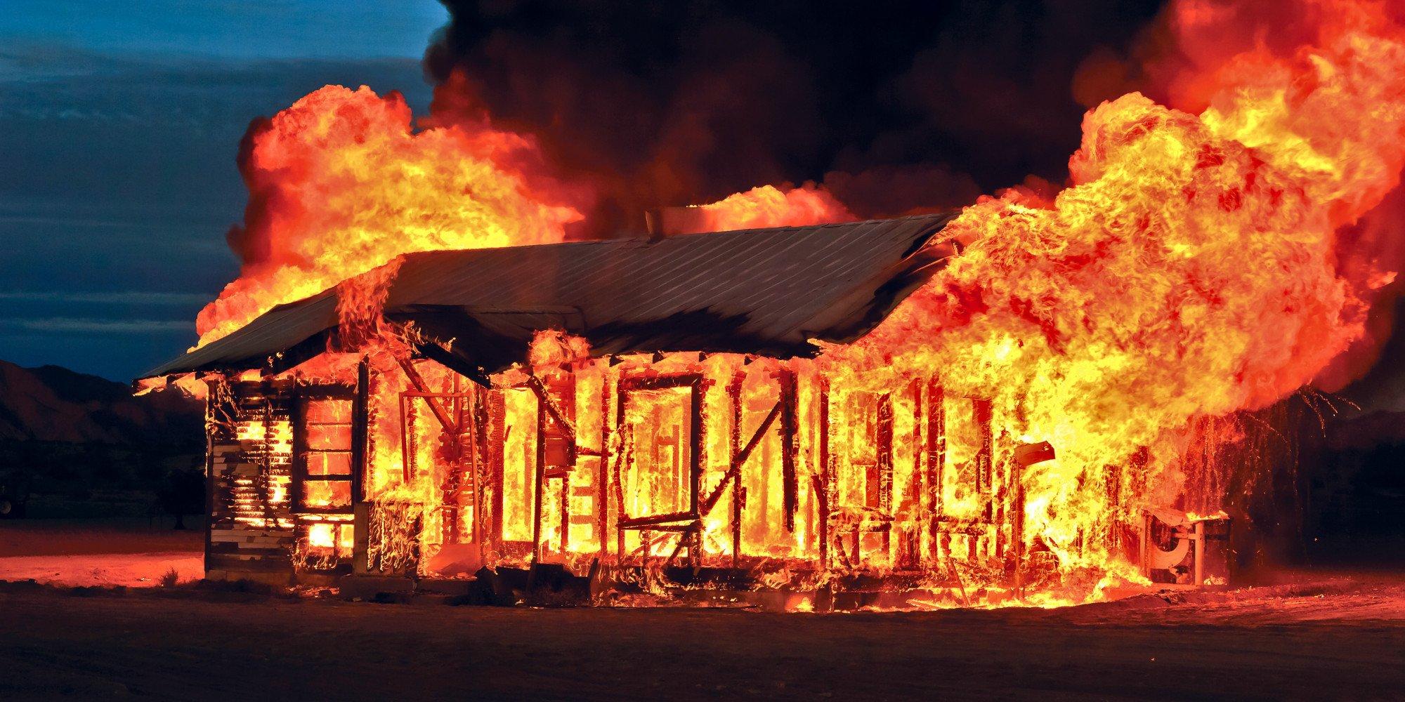 Картинки пожара домов