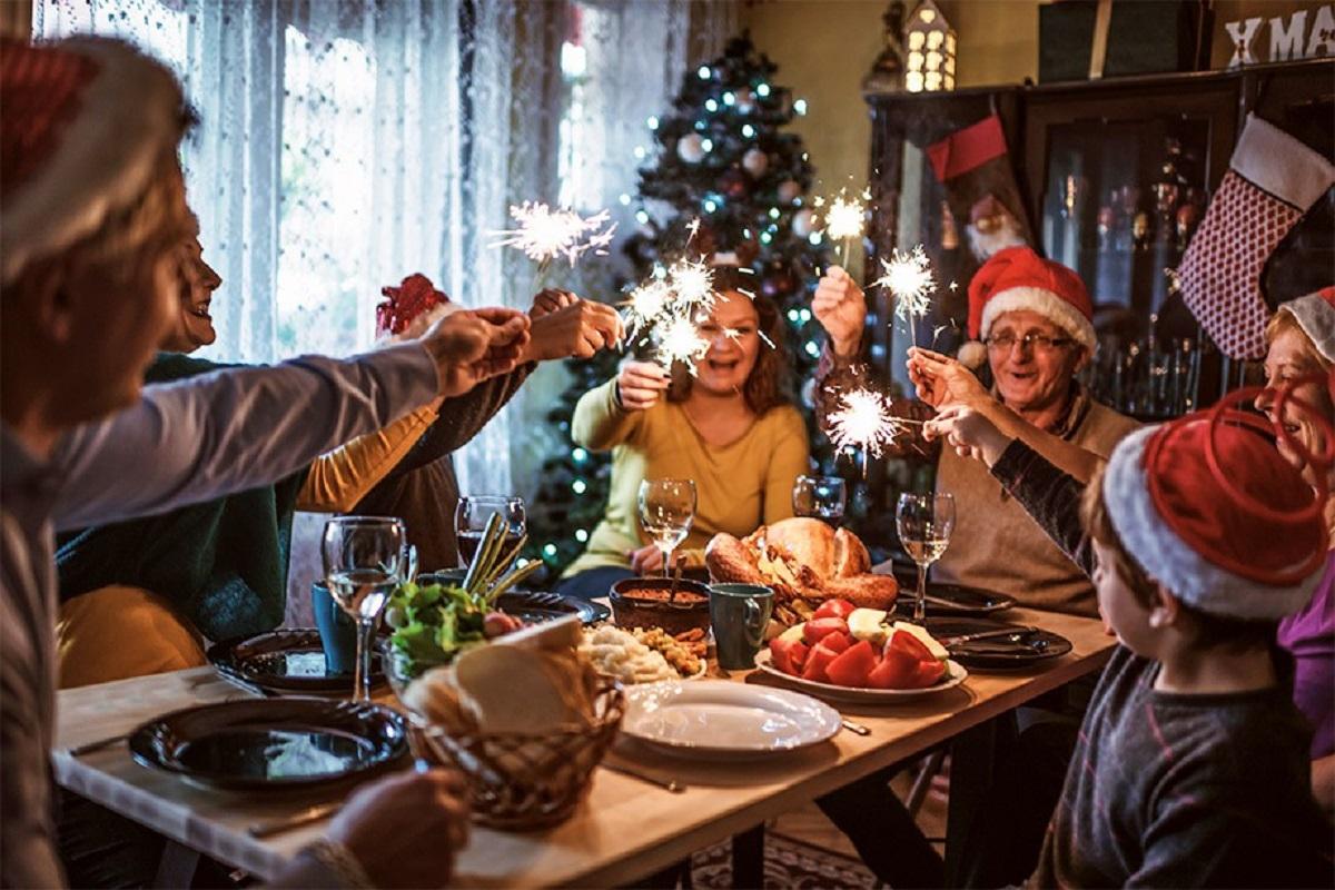 Семья и новый год картинка