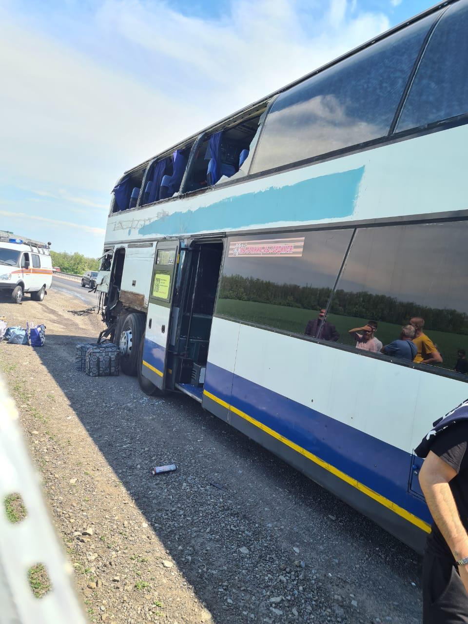После гибели пассажира автобуса на М-4 «Дон» прокуратура начала проверку